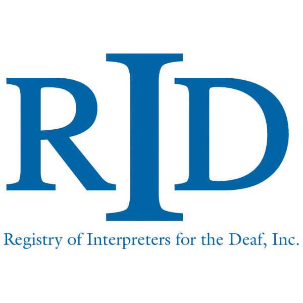 (logo) Registry of Interpreters for the Deaf, Inc.