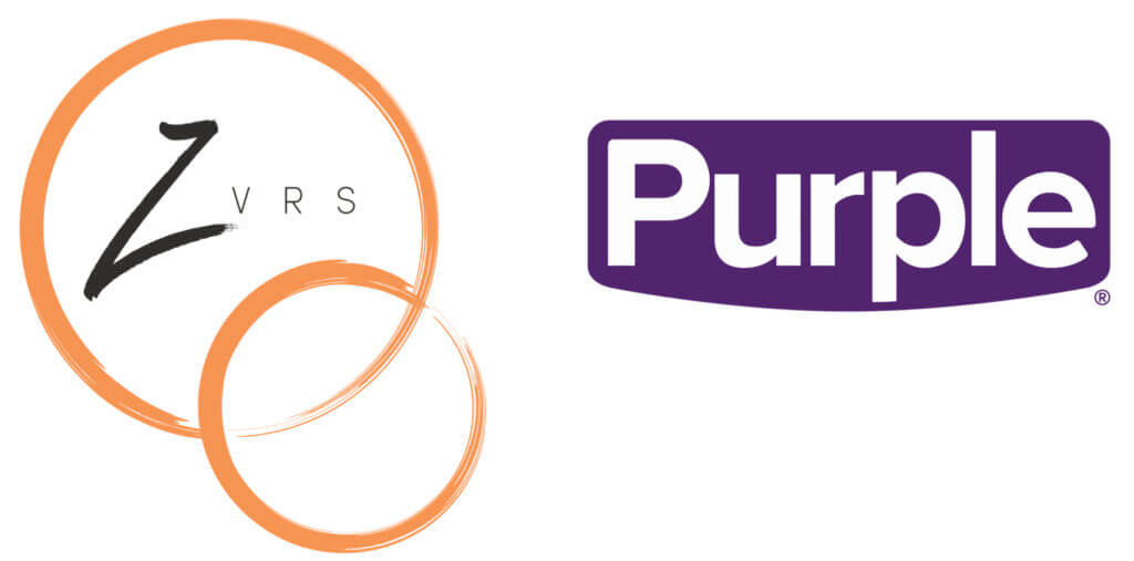ZVRS and Purple logos
