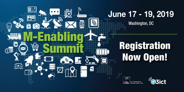 M-Enabling Summit: June 17-18, 2019 Washington, DC Registration Now Open!