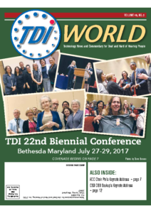 Vol. 48 Issue 2 (2017) 22nd TDI Biennial Conference Bethesda (Post Conf)