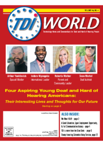 Vol. 48 Issue 4 (2017) Four Young Deaf & Hard of Hearing Americans
