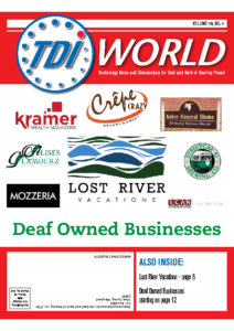 Vol. 49 Issue 4 (2018) Deaf Owned Businesses