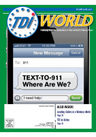 Vol. 43 Issue 3 & 4 (2012) Text-to-911 Where Are We