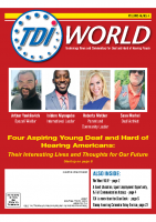 Vol. 48 Issue 4 (2017) Four Aspiring Young Deaf & Hard of Hearing Americans