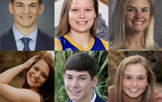 Headshots of the six 2020 TDI scholarship recipients