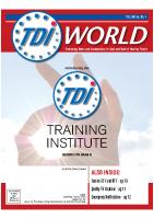 Vol. 50 issue 4 (2019) Training Institute
