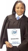 grad scholarship stock photo