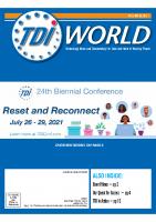 Vol. 52 Issue 1 (2021) 24th TDI Biennial Conference (Pre Conf)
